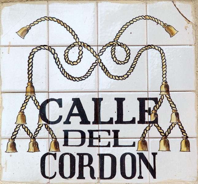 Calle del Cordón