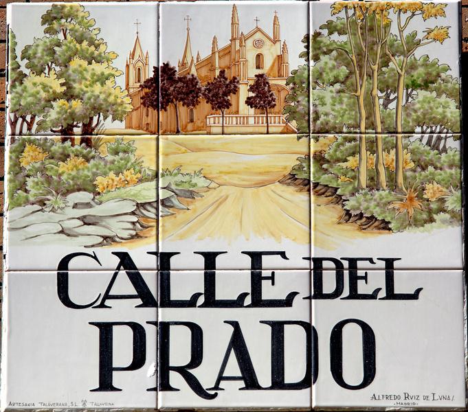 Placas de madrid for Calle prado jerez madrid